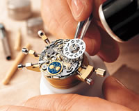 My father was a watchmaker by trade